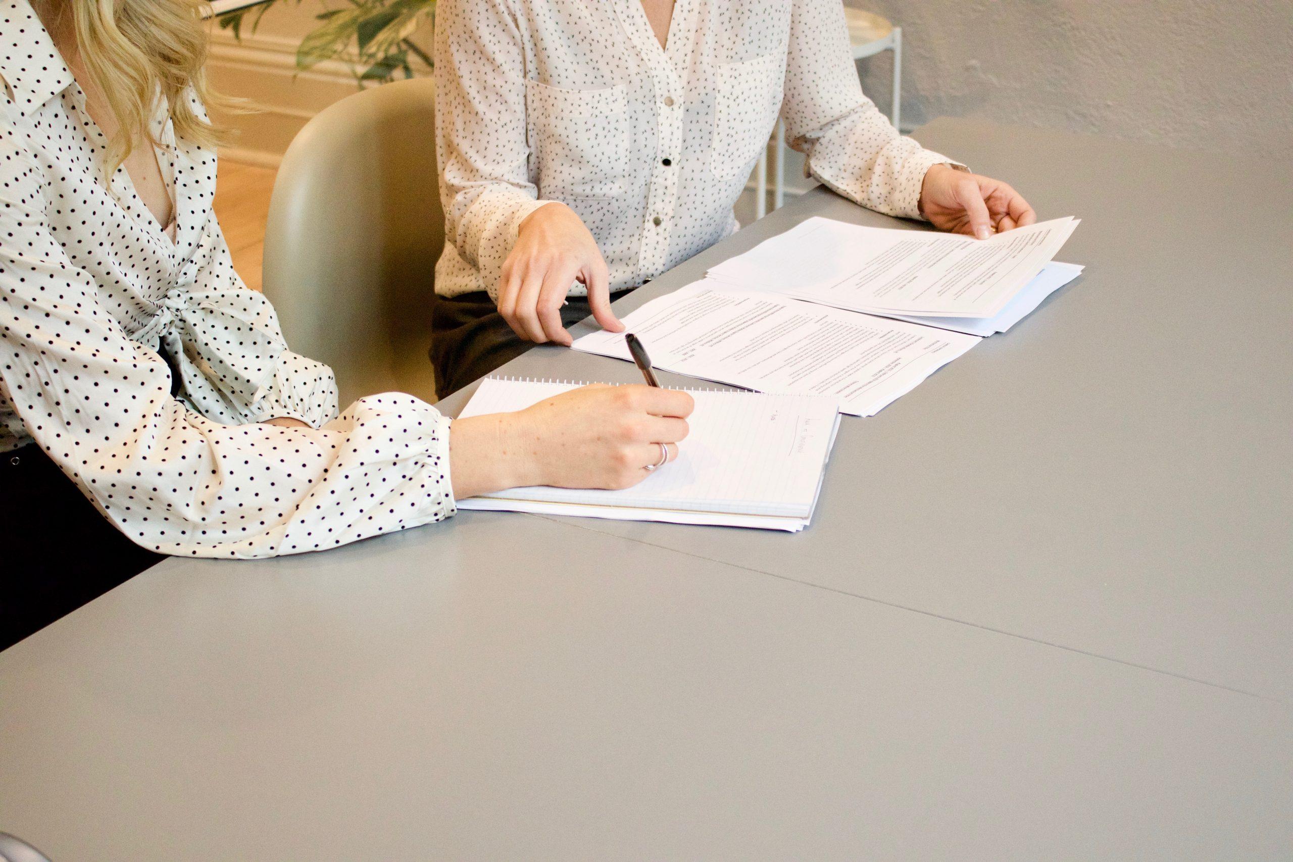 De notariële akte ondertekenen